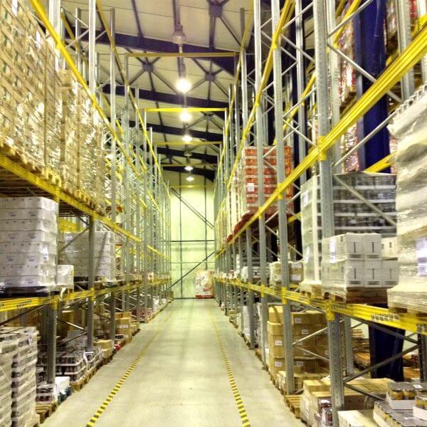 Αποκατάσταση βιομηχανικού δαπέδου χώρων logistics
