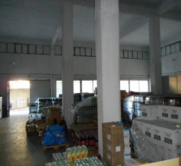 Κέντρο αποθήκευσης και διανομής (Logistics) τροφίμων και ποτών