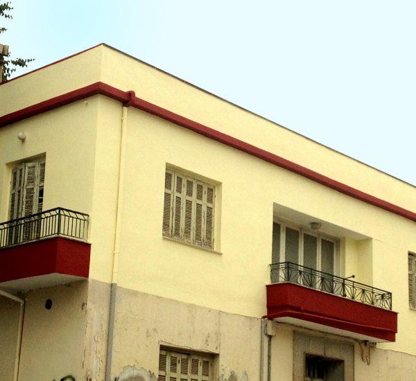 Αποκατάσταση βλαβών όψεων μονοκατοικίας